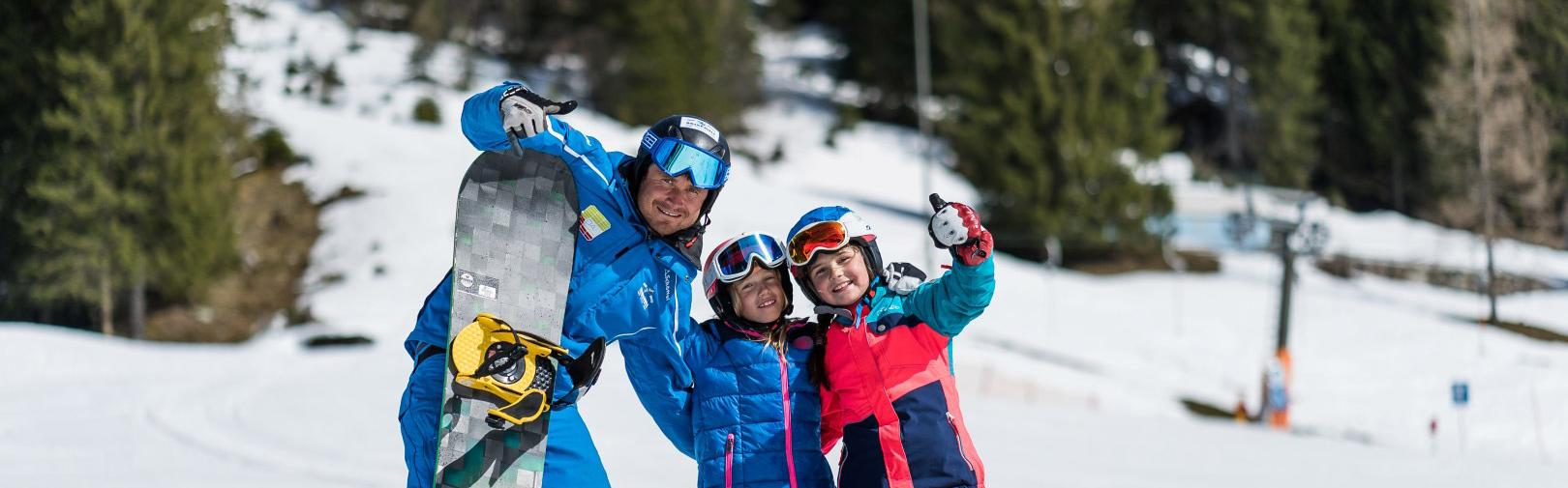 Learn snowboarding in Flachau - snowboard group courses for beginners to professionals