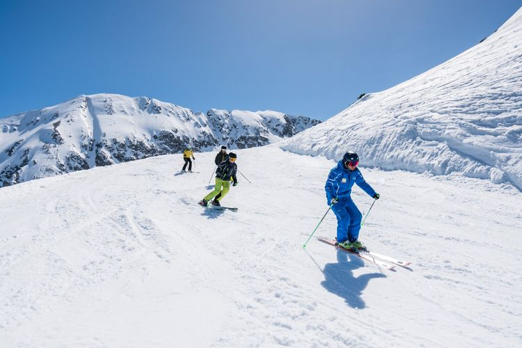 Ski course Flachau - group courses for adults